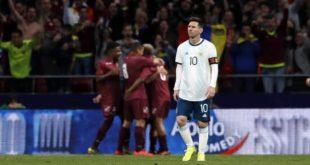 إصابة ميسي مع الأرجنتين تثير مخاوف برشلونة